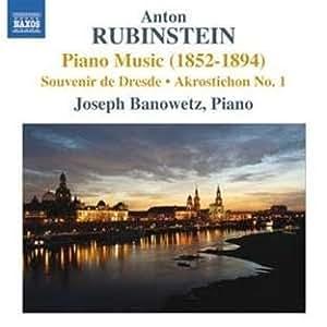 rubinstein piano music serenade russe two melodies