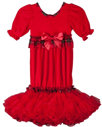 Save Price Laura Dare Infant Girls Holiday Red Tutu Sacque, size NB