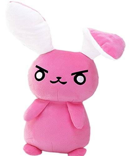 Coolha Cosplay Christmas Gifts Cute Beautiful Red Rabbit Soft Plush Doll Toy 53CM Height