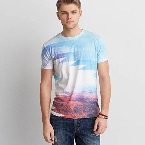 (アメリカンイーグル) メンズ Tシャツ AEO Southwestern Graphic T-Shirt White 並行輸入品 [並行輸入品]