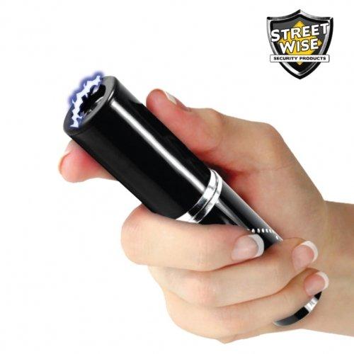 Streetwise Perfume Protector 3,500,000 Stun Gun Black