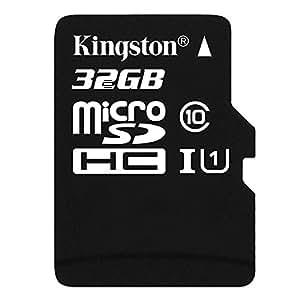 Kingston SDC10/32GBSP Carte micro SDHC/SDXC Classe 10 UHS-I de 32Go vitesse minimum de 10MB/s carte seule