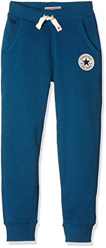 Converse Core, Pantaloni Sportivi Bambino, Blu (Blue Lagoon), X-Large (Taglia Produttore: 13-15Y)
