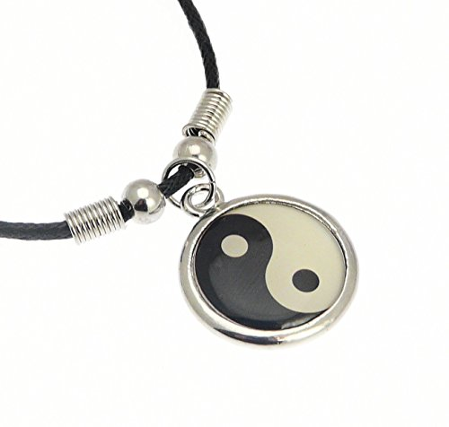 color-plata-metalico-simbolo-de-yin-yang-colgante-de-collar-de-cordon-collar-de-longitud-de-aproxima