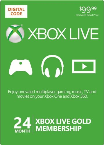 Xbox gold membership code amazon