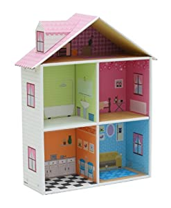 Krooom Eco-friendly Recyclable Reinfoced Cardboard Dollhouse- Mellrose