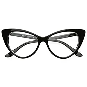 Babyla Women Cat Eye Glasses Vintage Clear Lens Eyewear