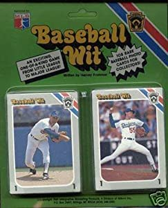 1990 Baseball Wit Trivia Card Set (108 Card Set Game) - Loads of Fun - Includes Mickey Mantle, Nolan Ryan, Joe DiMaggio, Ted Williams, Ty Cobb and more MLB Hall of Famers!