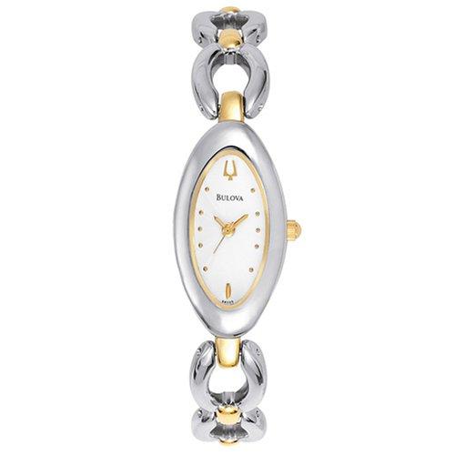 Price Comparisons Bulova Women's 98V05 Two-Tone Watch