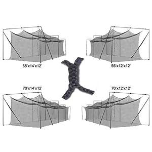 Cimarron 3mm Braided Batting Cage Net by Cimarron Sports