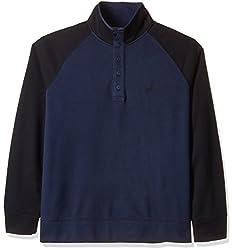Nautica Men's Cotton Sweatshirt (8907259499123_NTK533974NV_XX-Large_Navy)