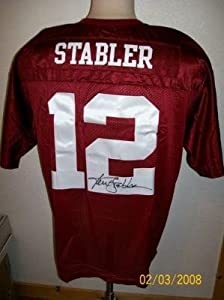 Kenny Stabler Signed Nike T b Alabama Crimson Tide Jers - Autographed College Jerseys by Sports+Memorabilia