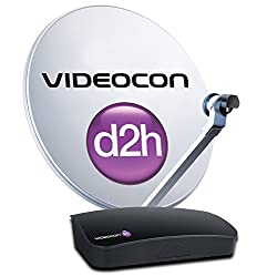 Videocon digital set top box activation kit (All India) (Super Gold 1 month subscription)