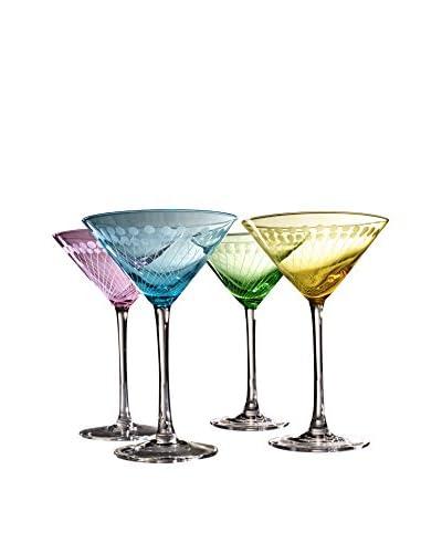 Artland Set of 4 Metro Martini 8-Oz. Glasses