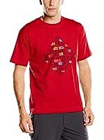 Izas Camiseta Manga Corta Gilbo (Rojo)