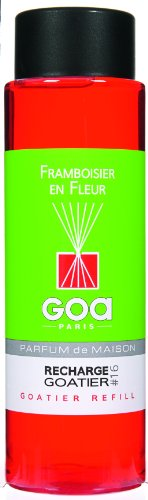 Goa 25916 Diffuseur Recharge Goatier Framboisier en Fleur 250 ml