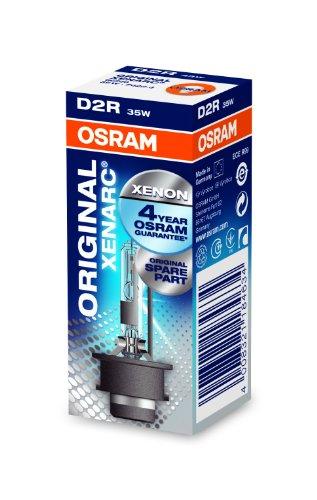 OSRAM XENARC ORIGINAL D2R Lampada per proiettori allo Xeno 66250 +100% 4150K di luce in più in Confezione singola
