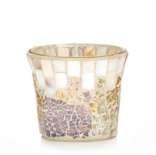 Yankee Candle Gold and Pearl Votive Holder