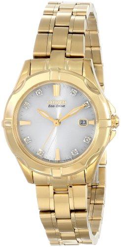 Citizen Women'S Ew1932-54A Stainless Steel Watch With Diamonds