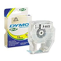 DYMO D2 Permanent Polyester Label Cartridge TAPE,DYMO 6000,3/4,WE 32682 (Pack of5)