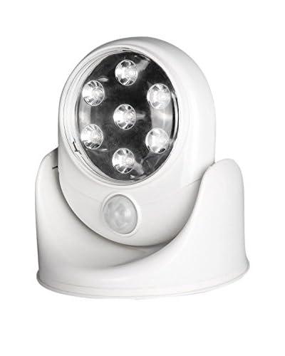 Luz Led Detector De Movimiento Blanco