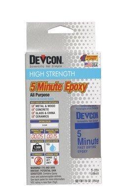 Devcon 20945 S-209 Epoxy 5 Minute 9oz