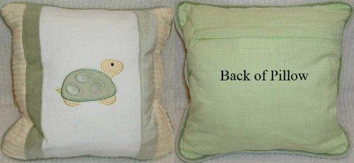 Ribbit Decorator Pillow - Turtle