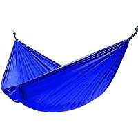 Ohuhu Portable Nylon Fabric Travel Camping Hammock 600-Pound Capacity