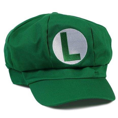 [PJ's Toybox Super Mario Bros Baseball Hat Caps Red Blue Purple Yellow White Mario Luigi Hats 5] (Super Mario Bros Baby Costumes)