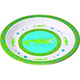 Lässig LDISHP108 - Plato para bebé (melamina), diseño de cocodrilo
