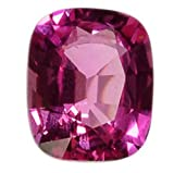 Sapphire Hot Pink Cushion Unset Loose Gemstone 19 Carats 16mm X 14mm