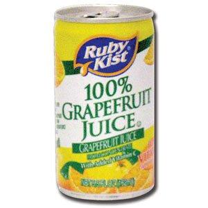 Canned Grapefruit Juice 48 - 5.5 oz. Cans / Case