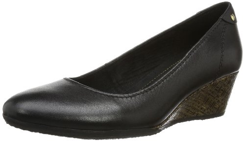 Jana Womens Barlo Pumps Black Schwarz (BLACK 1) Size: 40.5
