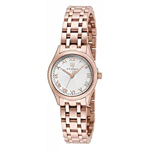 Invicta S. Coifman SC0341 26mm Rose Gold Steel Bracelet & Case Mineral Women's Watch