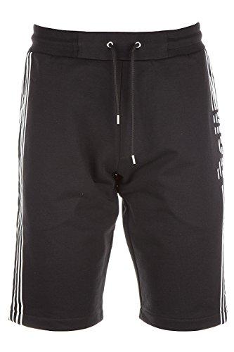 MCQ Alexander McQueen bermuda shorts pantaloncini uomo nero EU S (UK 30) 378998 RGR80 1000