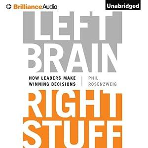 Left Brain, Right Stuff Audiobook