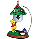 45mm Winnie the Pooh Bear and Piglet with Beehive in Water Globe