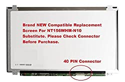 BOE NT156WHM-N10 Replacement Screen for Laptop LED HD Glossy. Same Day Shipping. 2 Year Warranty