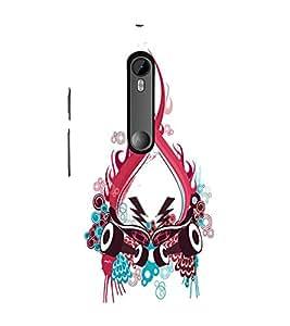 EPICCASE Abstract Art Mobile Back Case Cover For Moto G 3rd Gen (Designer Case)