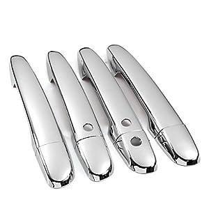 Mirror chrome door handle covers trims for - 2010 mazda 3 interior door handle ...