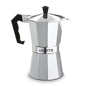 Gialetti Stovetop Espresso Pot 6 Cup Italian
