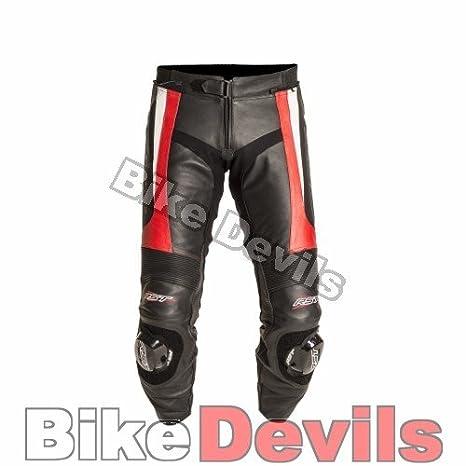 Nouvelle RST lame 1115 cuir rouge moto pantalon