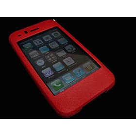 iPhone 3G 専用カバーケース 『 bloody (深紅)』 </p><p>スキニーマテリアル