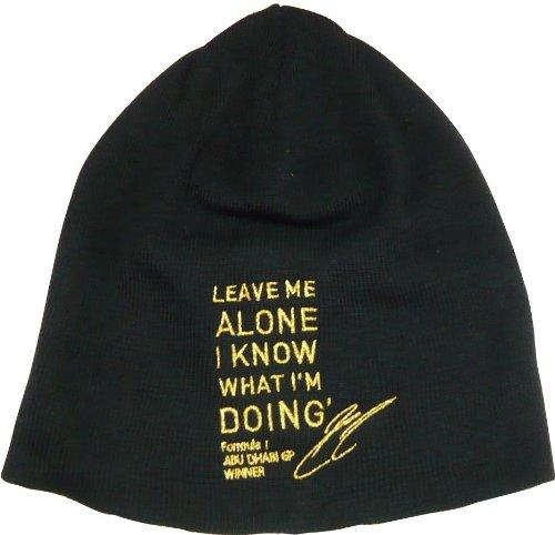 【キミ・ライコネン】 Leave Me Alone リミテッドエディションビーニー(LOTUS GP)