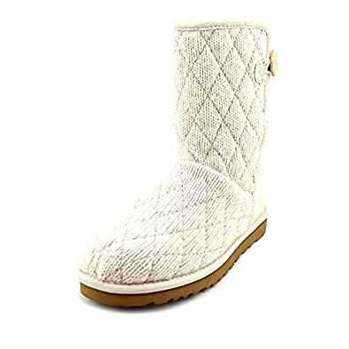 UGG Australia Women's Mountain Quilted Short Casual Shoes,Stucco,11 US