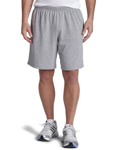 Champion  Men's Rugby Short,Oxford Gray,X-Large