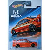 Hot Wheels Honda Series, RED Honda Civic SI 3/8