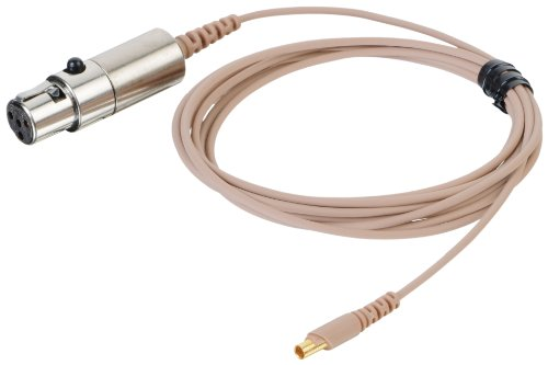 Countryman E2Cablet1Sl E2 Earset Aramid-Reinforced Snap-On Cable For Shure Transmitters (Tan)