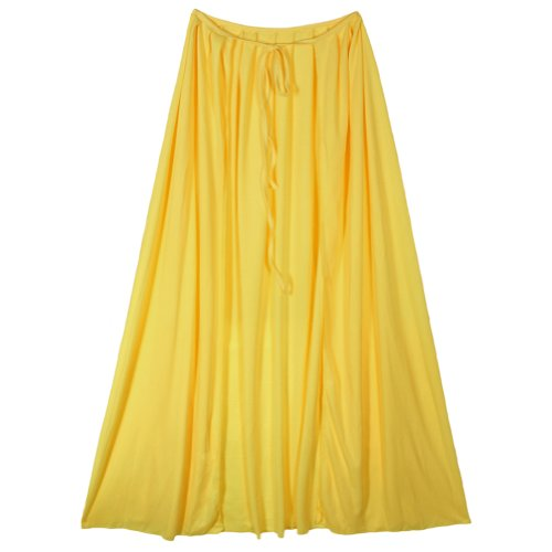 "SeasonsTrading 28"" Child Yellow Cape ~ Halloween Costume Accessory"