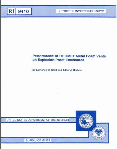 Performance of RETIMET Metal Foam Vents on Explosion-Proof Enclosures